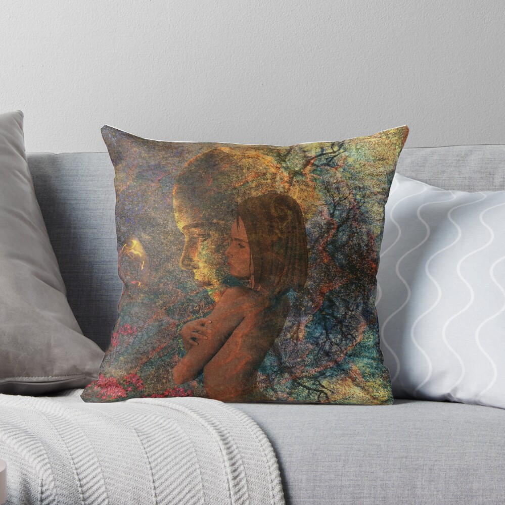 Shadows of a Memory Throw Pillow