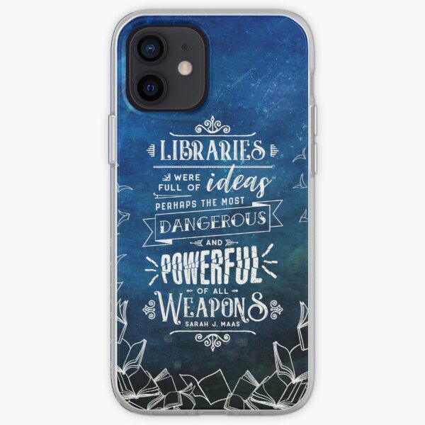 Libraries iPhone Soft Case