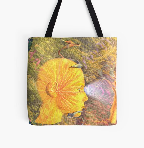 To Wonder and Explore All Over Print Tote Bag