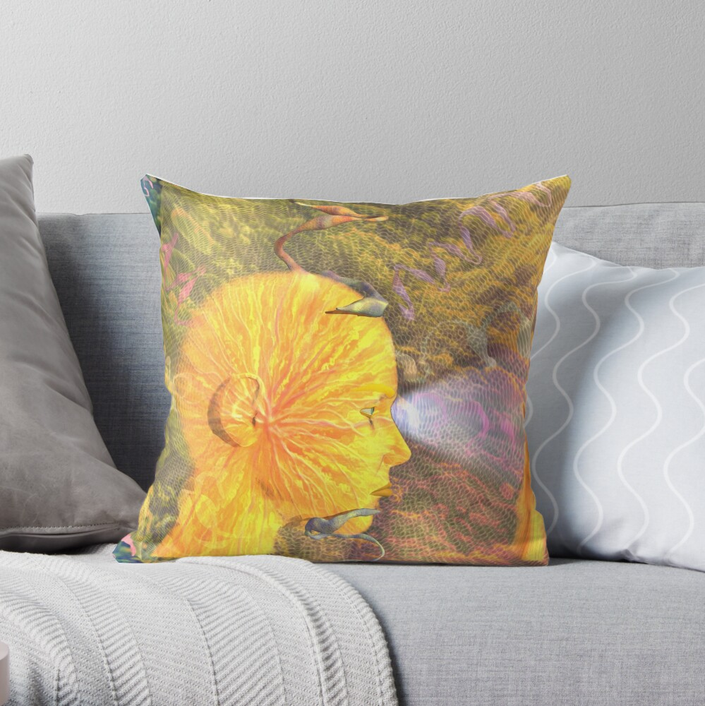 To Wonder and Explore Throw Pillow
