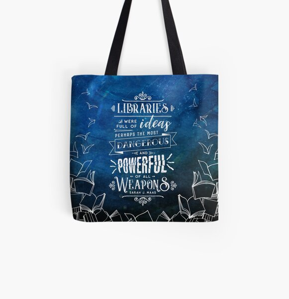 Libraries All Over Print Tote Bag