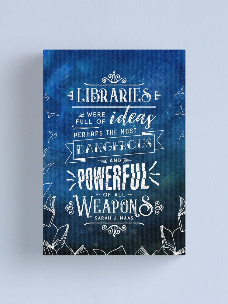 Alternate view of Libraries Canvas Print