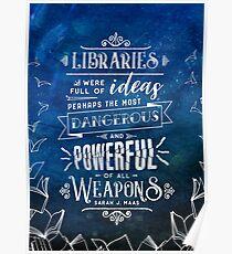 Bibliotheken Poster