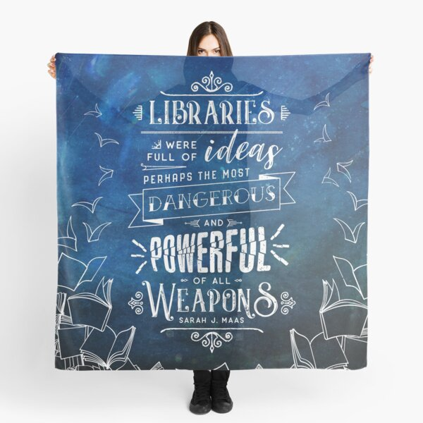 Libraries Scarf