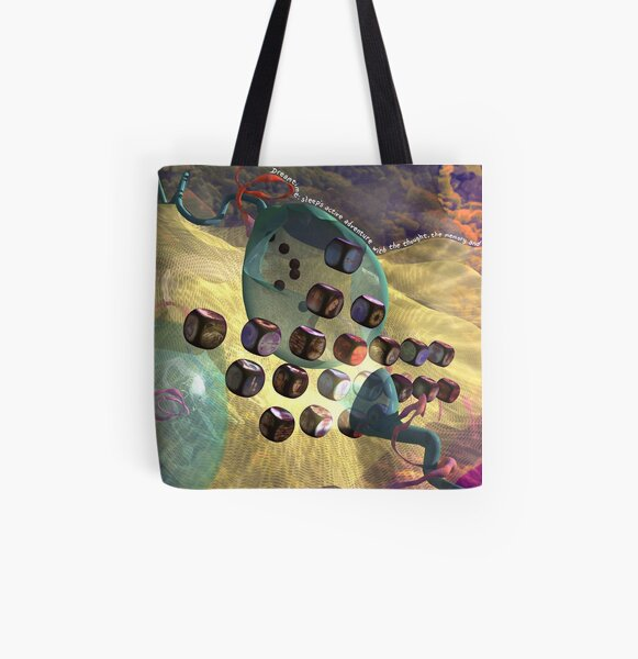 Dreamtime All Over Print Tote Bag