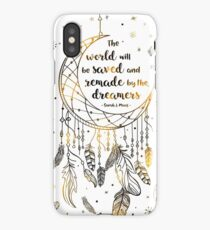 The world will be saved iPhone XS Case