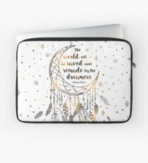 The world will be saved Laptop Sleeve