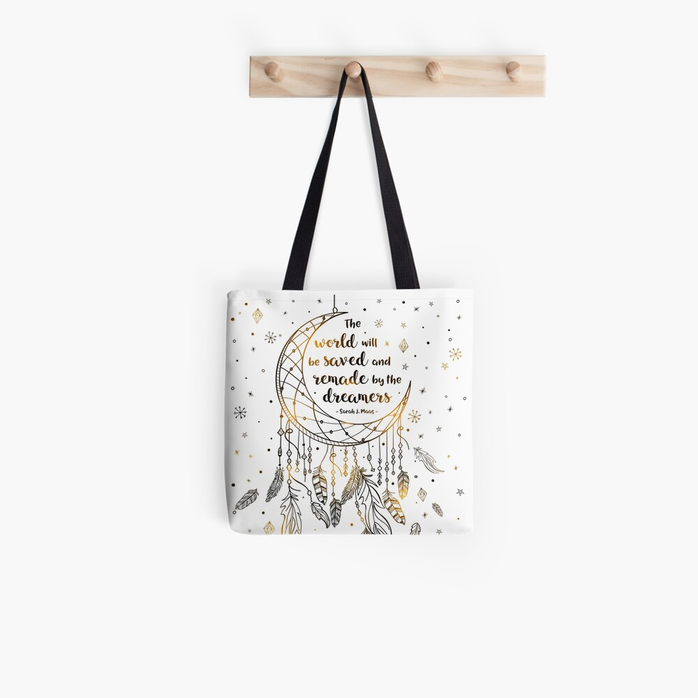 The world will be saved Tote Bag