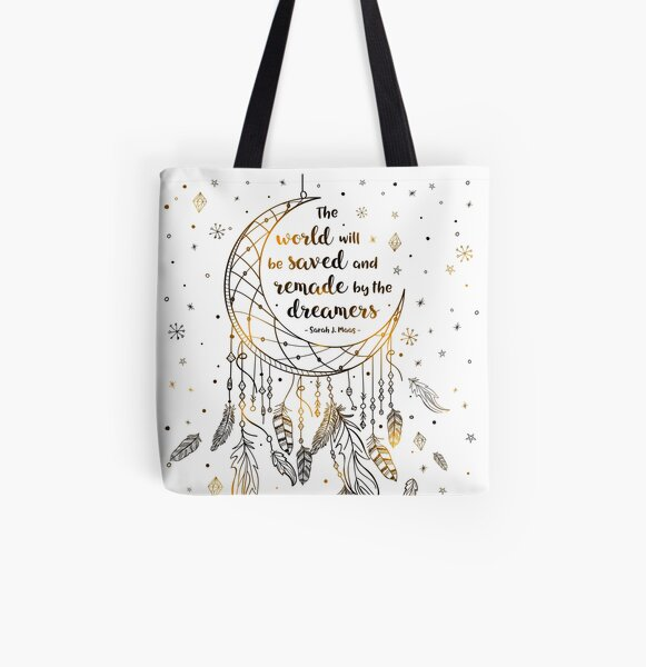 The world will be saved All Over Print Tote Bag
