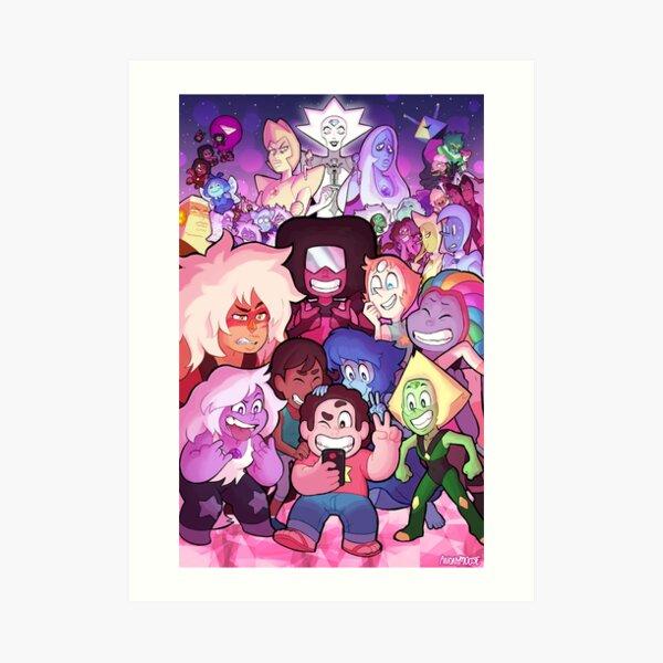 Steven Universe Familienporträt Kunstdruck
