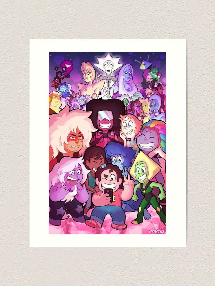 Alternate view of Steven Universe Family Portrait Art Print