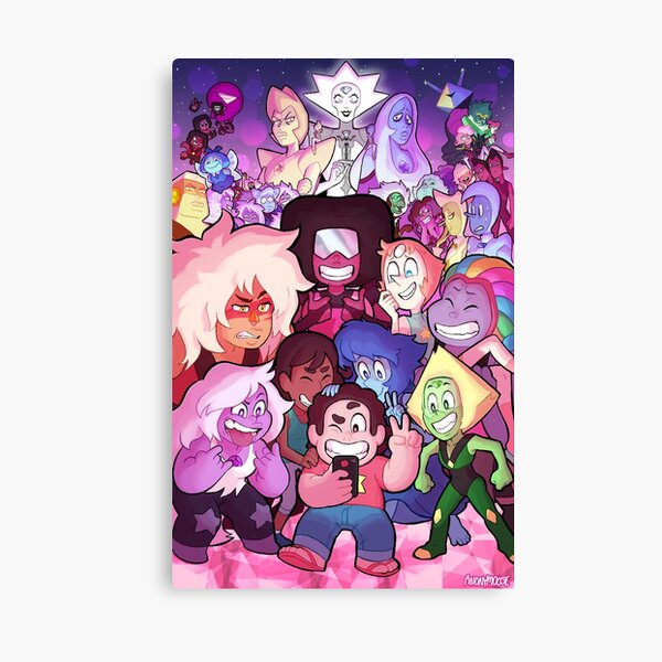 Steven Universe Family Portrait Canvas Print