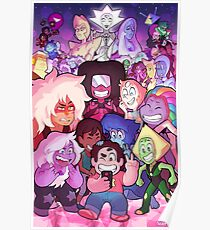 Steven Universe Family Portrait Poster