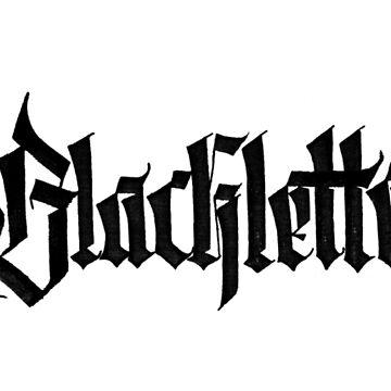 Blackletter calligraffiti by loneleon