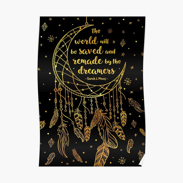Saved and Remade - gold Poster