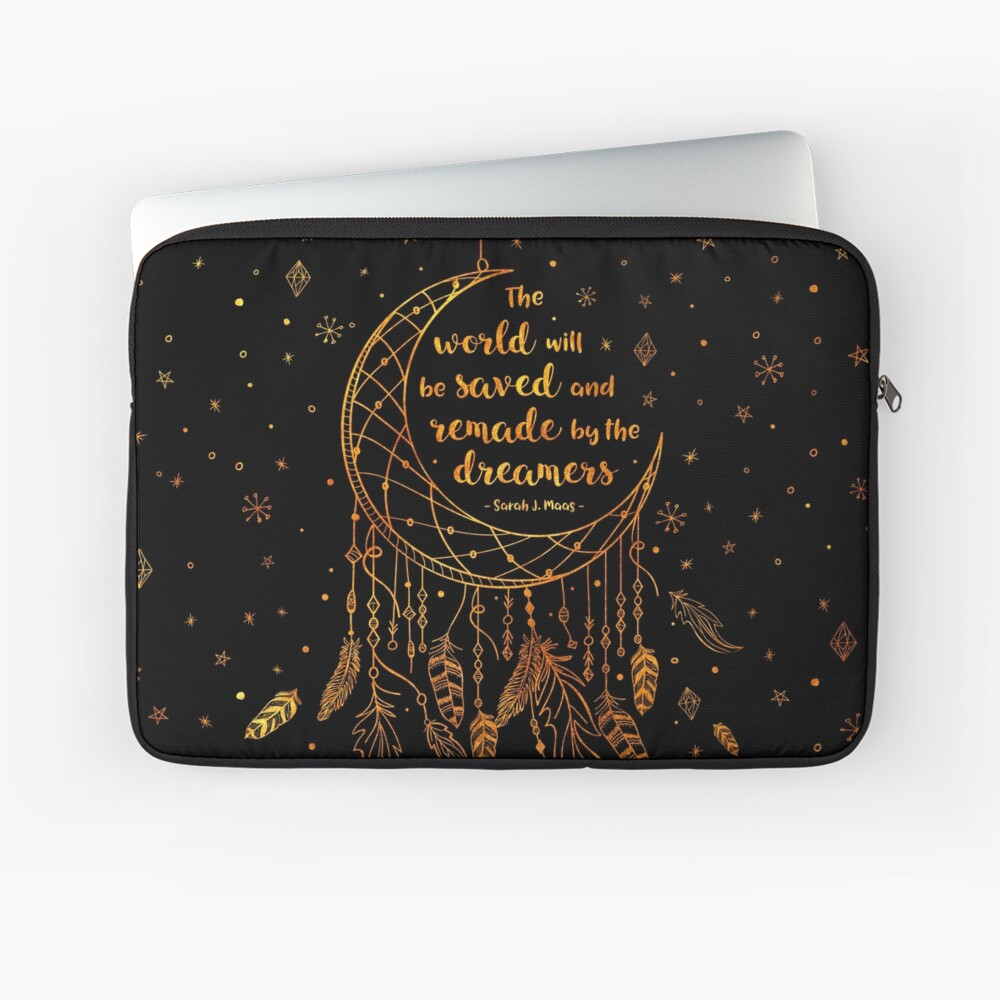 Saved and Remade - gold Laptop Sleeve