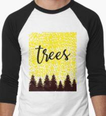 Bäume Baseballshirt mit 3/4-Arm