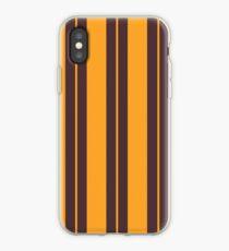 Retro Vintage Striped   Pattern Art iPhone Case