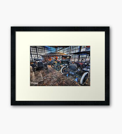 Just Like Old Times Framed Print