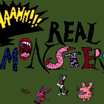 Aaahh!!! Real Monsters by DucktuR