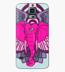 Bassdrop rosa Elefant Trifecta Hülle & Klebefolie für Samsung Galaxy