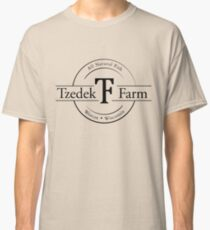 Tzedek Farm Weston WI - Black Classic T-Shirt