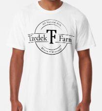 Tzedek Farm Weston WI - Black Long T-Shirt