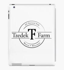 Tzedek Farm Weston WI - Black iPad Case/Skin
