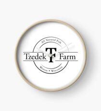 Tzedek Farm Weston WI - Black Clock
