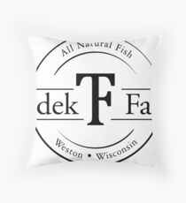 Tzedek Farm Weston WI - Black Floor Pillow
