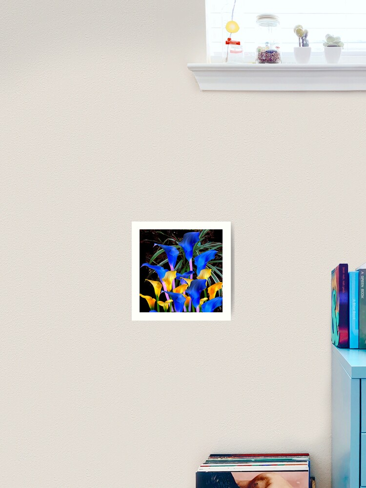 ABSTRACT CALLA LILY FLOWER CANVAS PICTURE PRINT WALL ART FREE FAST DELIVERY