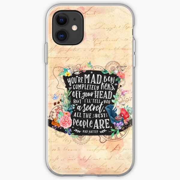 Mad Hatter iPhone Soft Case