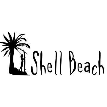 Shell Beach Bahamas by RBBeachDesigns