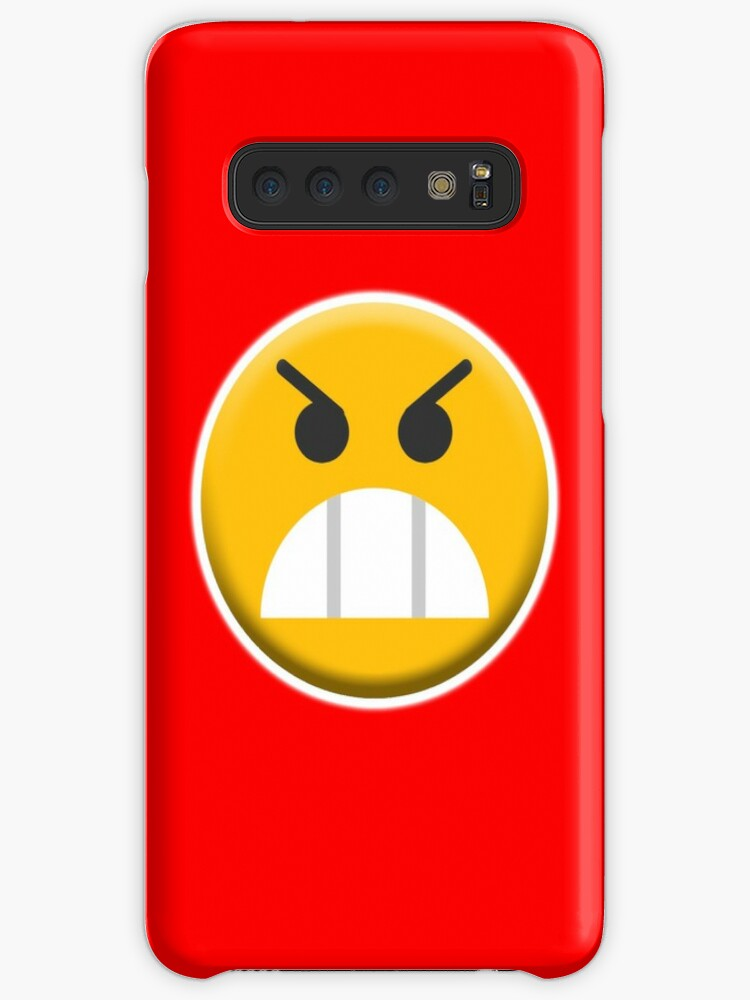 Angry Mr Angry Upset Emoji Emoticon Fierce Cases Skins For