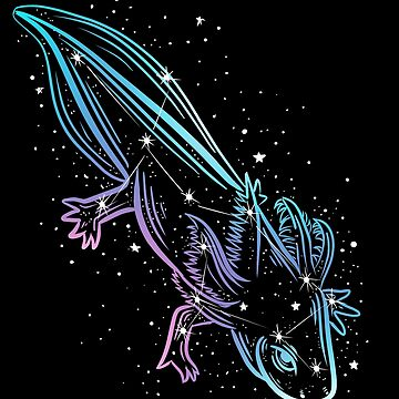 Axolotl Constellation by absolemstudio