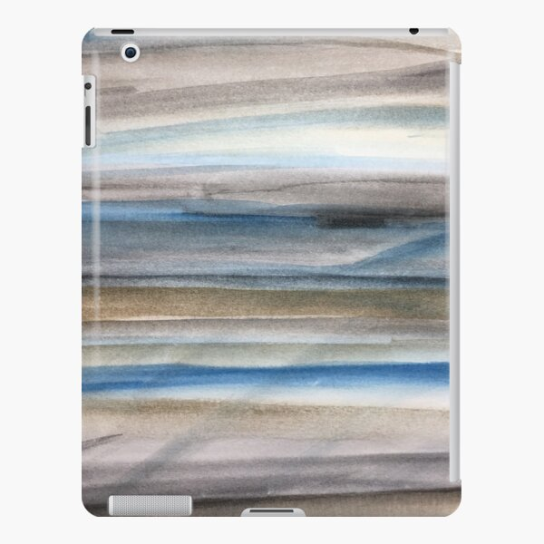 Brown and Blue Abstract iPad Snap Case
