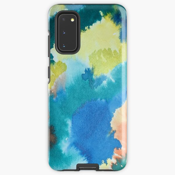 Untitled (Blue, Yellow, Orange and Green)  Samsung Galaxy Tough Case