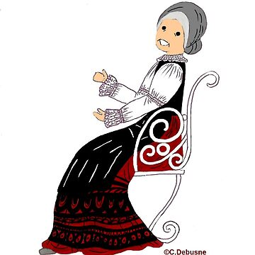 Folk Costume from AQUITAINE, France by Folklore