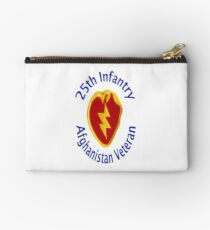 25th Infantry - Afghanistan Veteran Studio Pouch