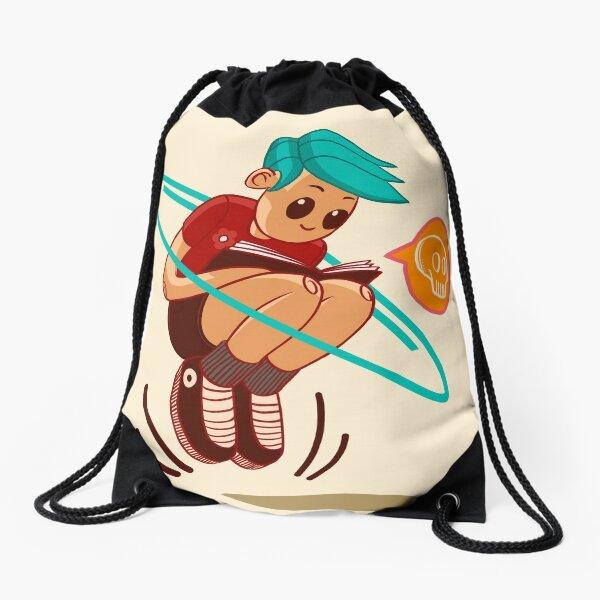 Joys of Reading Drawstring Bag