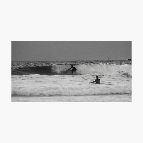 Stormy Surfing Photographic Print