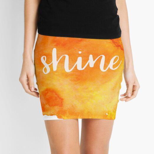 Shine Mini Skirt