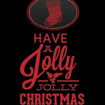 jolly jolly christmas by francodelgrando