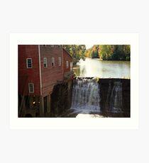 Dells Mill Art Print