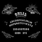 Ouija Board Graphic by Jean Rim