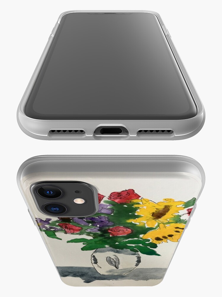 Alternate view of Melissa's bouquet iPhone Case & Cover