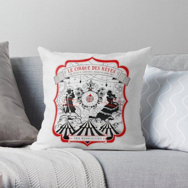 The Night Circus - light Throw Pillow