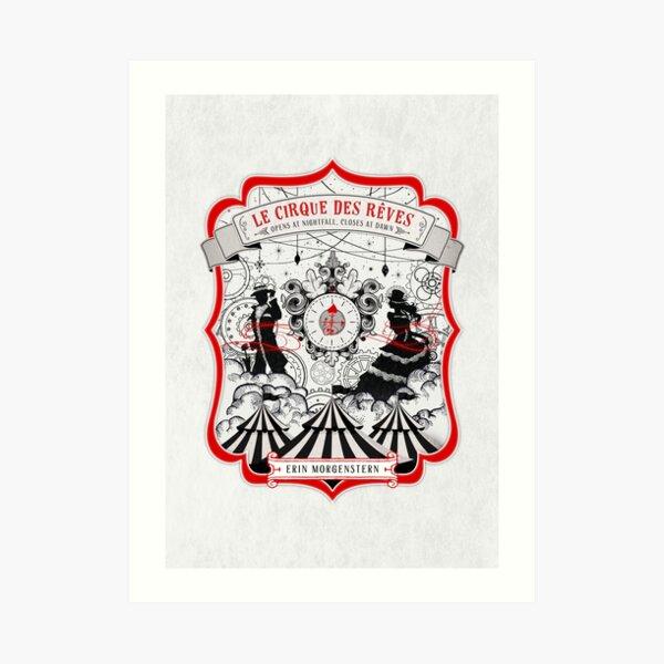 The Night Circus - light Art Print