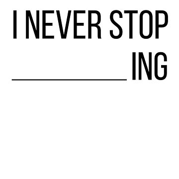 I never stop dreaming by arqui