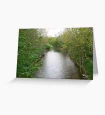 UPSTREAM Greeting Card